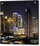 Shining Jakarta Acrylic Print
