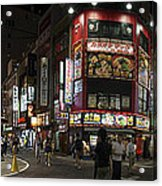 Shinjuku Night Acrylic Print