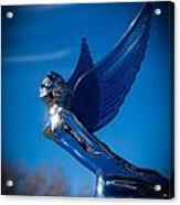 Shiny And Blue Acrylic Print