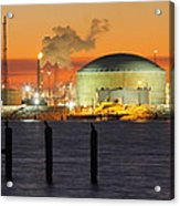 Shiny Refinery #3 2am-27808 Acrylic Print