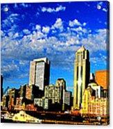 Shiny Seattle Acrylic Print