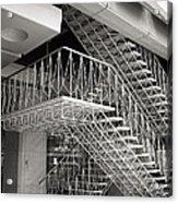 Shiodome Tokyo Stairs Acrylic Print