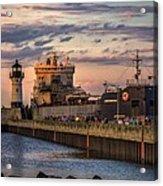 Ship Ahoy Acrylic Print by Mary Amerman