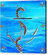 Ship Anchor Acrylic Print