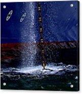 Ship At Anchor Acrylic Print