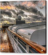 Ship Deck Acrylic Print