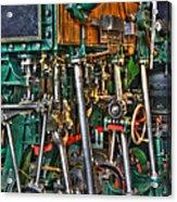 Ship Engine Acrylic Print