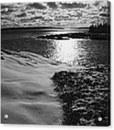 Ship Harbor Winter Acrylic Print