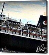 Ship Acrylic Print