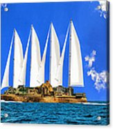 Ship Of State Acrylic Print