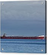 Ship On Lake Huron 1 Acrylic Print