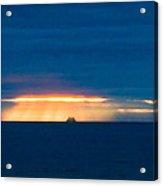 Ship On The Horizon Acrylic Print