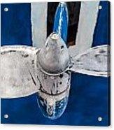 Ship Propeler. Acrylic Print by Slavica Koceva