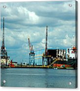Ship Repair Acrylic Print