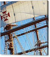 Ship Rigging Acrylic Print