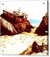 Ship Wrecked Acrylic Print