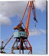 Shipping Industry Crane 06 Acrylic Print