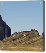 Shiprock Panorama - North West New Mexico Acrylic Print