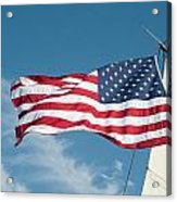 Ship's Flag Acrylic Print