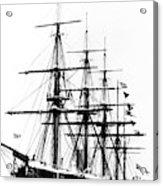 Ships Hms 'agincourt Acrylic Print