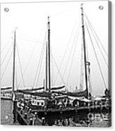 Ships Of Volendram Acrylic Print