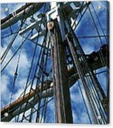Ships Rigging Acrylic Print