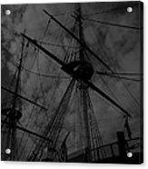 Ships Silhouette Acrylic Print
