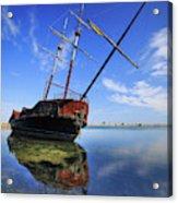 Shipwreck In Lake Ontario  Ontario Acrylic Print