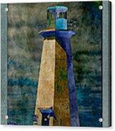 Shipwreck Point Lighthouse Acrylic Print