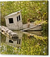 Shipwreck Silver Springs Florida Acrylic Print