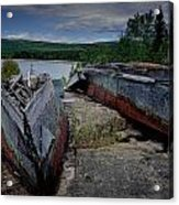 Shipwrecks At Neys Provincial Park No.3 Acrylic Print
