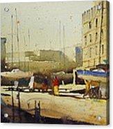Shipyard At Keroman Acrylic Print