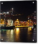 Shipyards 2 Callao Port Lima Peru Acrylic Print