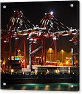 Shipyards  Callao Port Lima Peru Acrylic Print