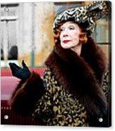 Shirley Maclaine @ Tv Serie Downton Abbey  Acrylic Print