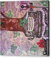 Shiv Ling Acrylic Print