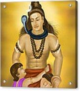 Shiva Family.  Acrylic Print