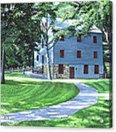 Shoaff's Mill Acrylic Print