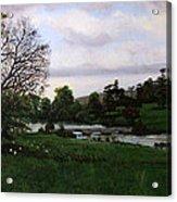Shobrooke Park  Crediton  Devon Acrylic Print