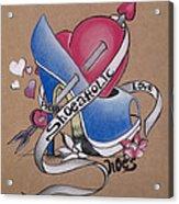 Shoeaholic Acrylic Print