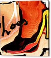 Shoes Acrylic Print