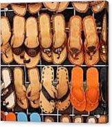 Shoes Shoes Everywhere Playa Del Carmen Mexico Acrylic Print