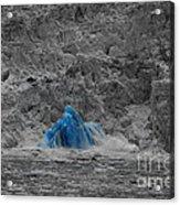 Shooting Glacier Acrylic Print