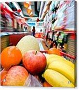 Shopping 1 Acrylic Print
