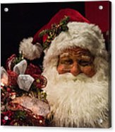 Shopping Mall Santa Acrylic Print