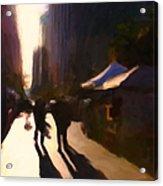 Shopping Stands Along Market Street At San Francisco's Embarcadero - 5d20841 V3 Acrylic Print