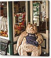 Shopping's A Bear Acrylic Print