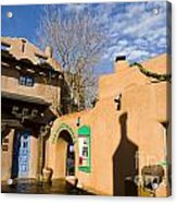 Shops At Santa Fe New Mexico Acrylic Print