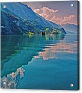Shore Reflection Acrylic Print