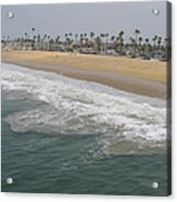 Shoreline Newport Beach Acrylic Print